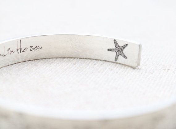 Inspiración Pulsera  plata de manguito pulsera  brazalete de