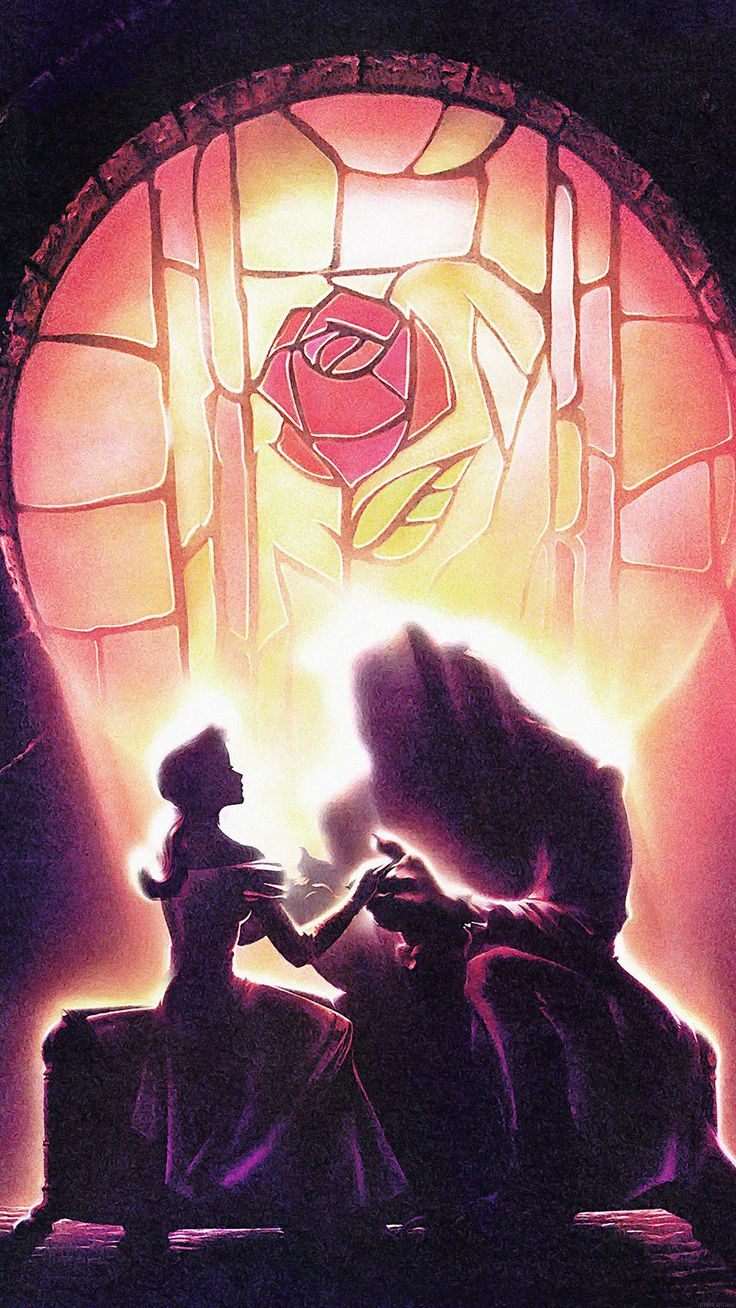 Tap image for more iPhone Disney wallpaper! Beauty and The Beast - @mobile9 | Wallpapers for iPhone 5/5s, iPhone 6 & 6 plus