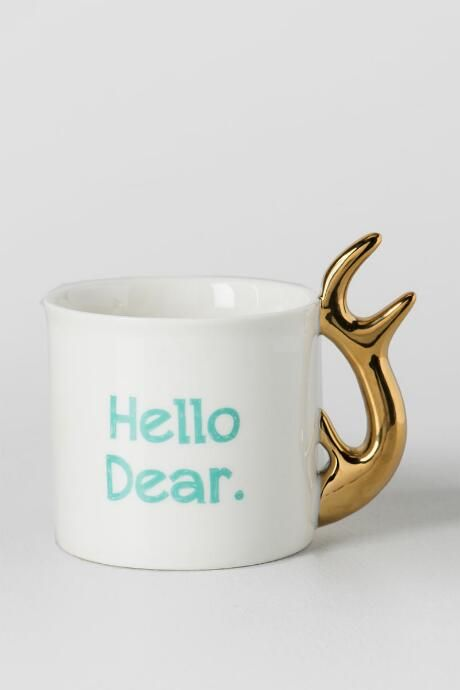 Hello Dear Mug $9.98                      $14.00