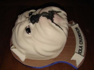 Best 25 Bulldog Cake Ideas On Pinterest Cold Porcelain