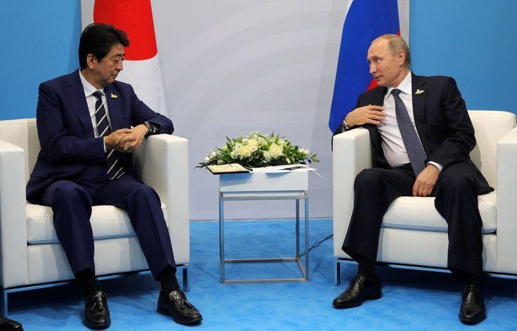 7 сентября 2017, 08:56   Абэ хотел бы увидеть Путина в Японии на показательных выступлениях по дзюдо   http://tass.ru/vef-2017/articles/4540987