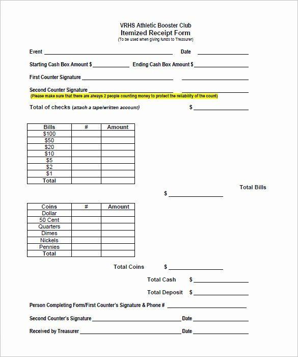 11 Itemized Receipt Templates Free Printable Word Excel Templates Printable Free Receipt Template Templates
