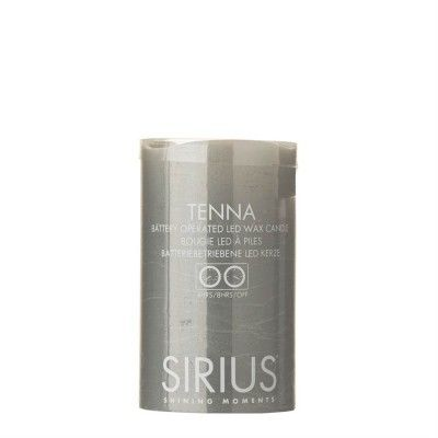 This medium ash grey LED light TENNA candle from SIRIUS is made from real wax with a beautiful rustic textured surface. It is battery powered ...  sc 1 st  Pinterest & 80 best SIRIUS Lighting at Dotty Home images on Pinterest | Indoor ... azcodes.com