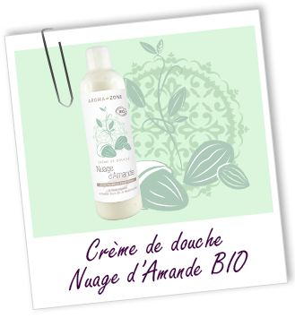 Crème de douche BIO Nuage d'Amande Aroma-Zone