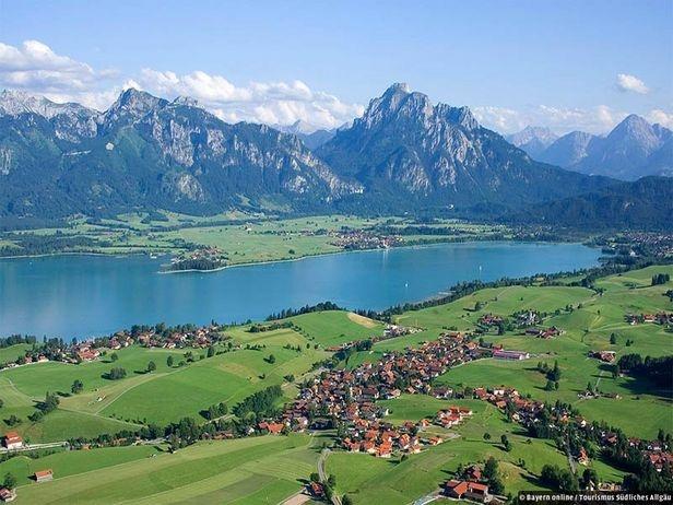 Forggensee, Allgäu, Alemanya. Un dels llocs més bonics que he visitat mai
