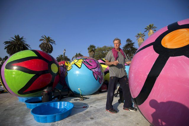 """""""Ed Massey and The Spheres at MacArthur Park"""" in Los Angeles"""