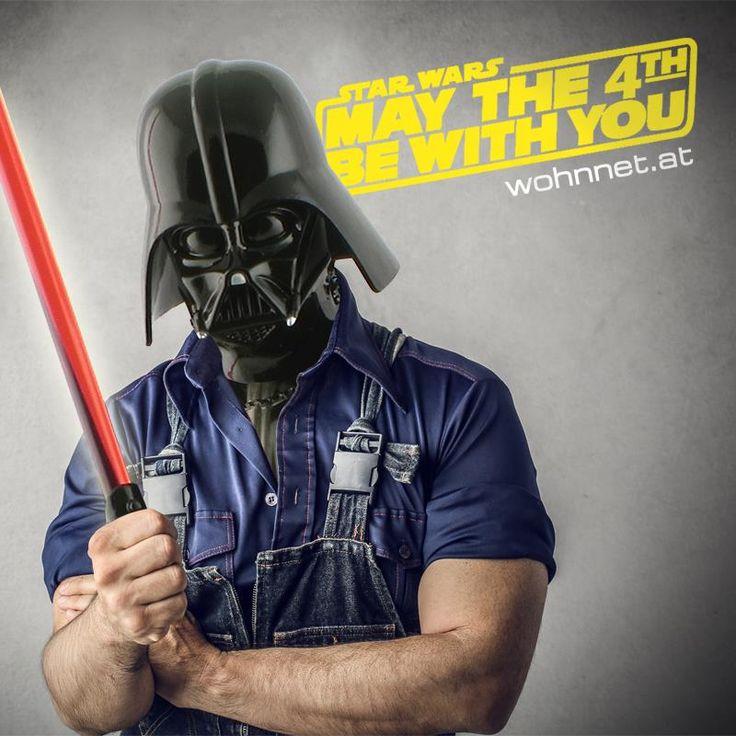 Die Macht ist mit wohnnet! #maythefourthbewithyou #Starwarsday ©Mario Ewald