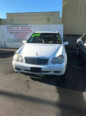 2001 *Mercedes-benz* *C-class* *C320* *4dr* -BAD CREDIT? NO PROBLEM!