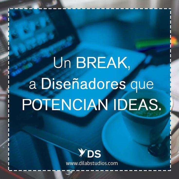 Un break a diseñadores que potencian ideas.