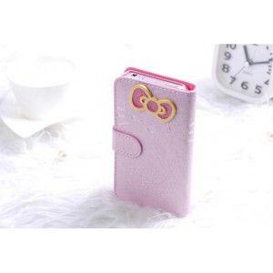 Iphone 4/4s/5 süße Hallo Kitty PU Leder Schutzhülle Tasche