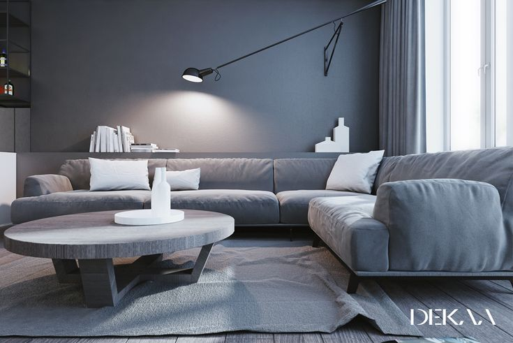 If you love the look of beautifully smooth grey and white interiors as we do, then this is a great set of inspirational home designs for you. Ranging from a dar