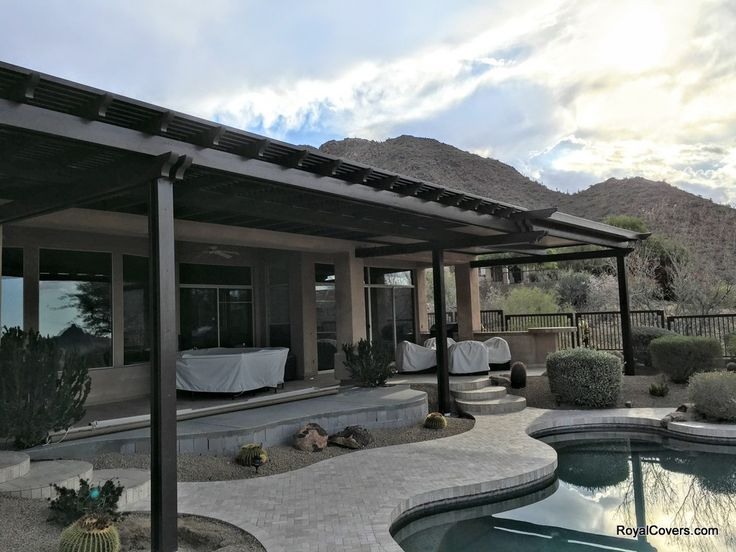 Alumawood Patio Cover In Scottsdale Az Royal Covers Of