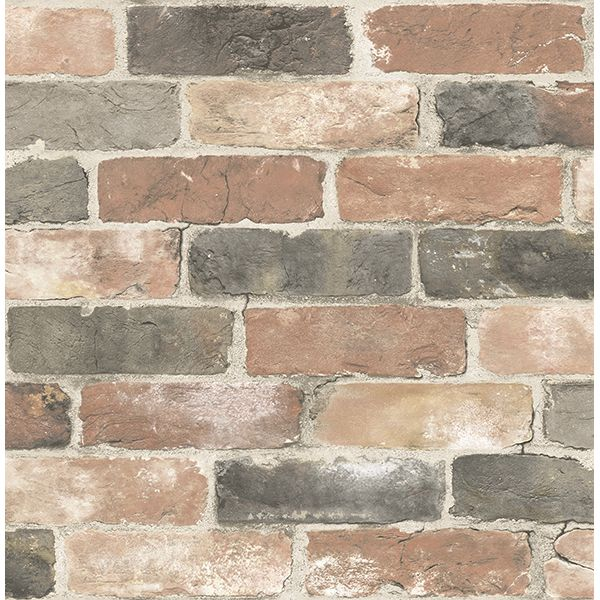 Wallpaper :: Industrial Wallpapers :: Brick Wallpapers :: Rustic Bricks - 3 Cololurs - Ivory Tower Decor