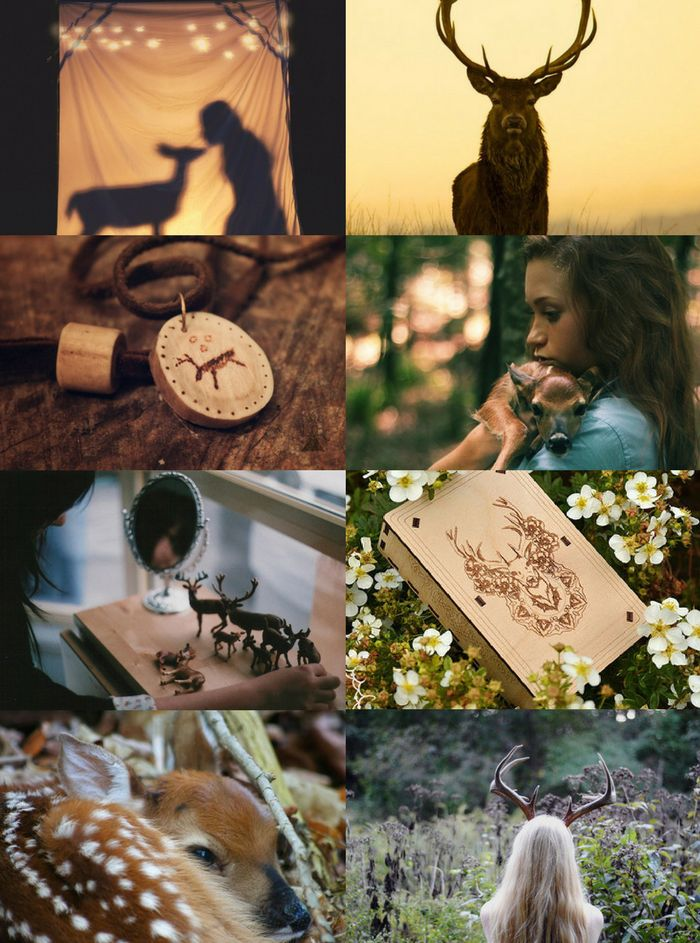 """Animal Witch Aesthetics // Deer Witch """"Requested """" Owl Witch 