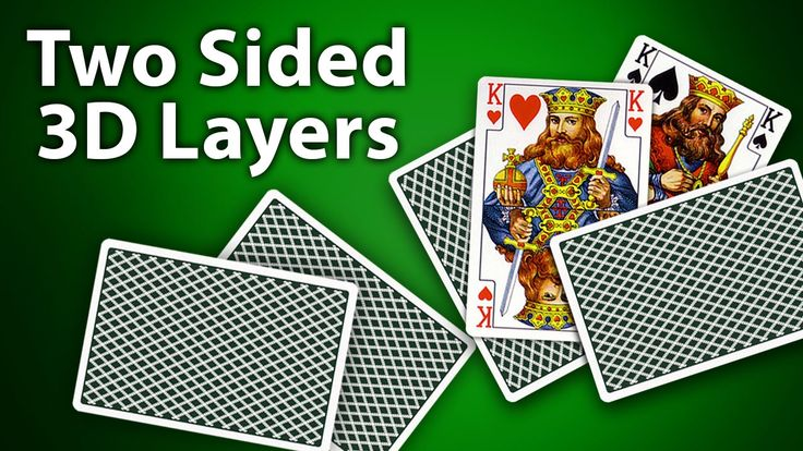 AEplus 007 - Two Sided 3D Layers for Playing Cards Creation in After Effects