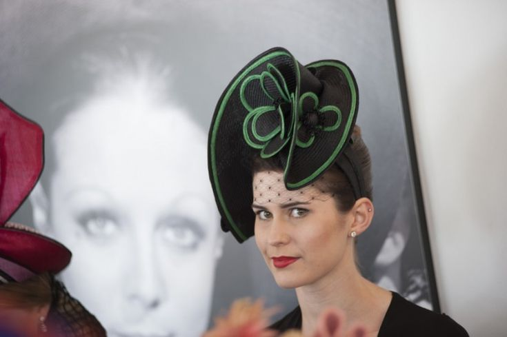 Love this hat - so elegant - http://www.theloupe.org/2012 Photo By MONTY COLES