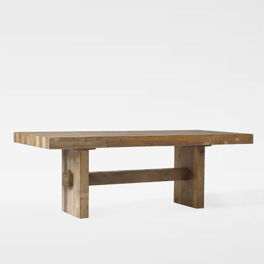 West Elm Rustic Kitchen Table: 17 Best Ideas About West Elm Dining Table On Pinterest