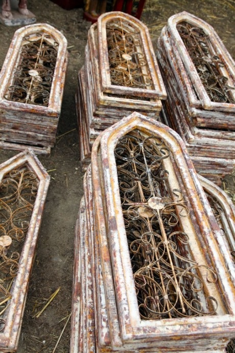 Gothic Window Frames Shutters Architectural Salvage