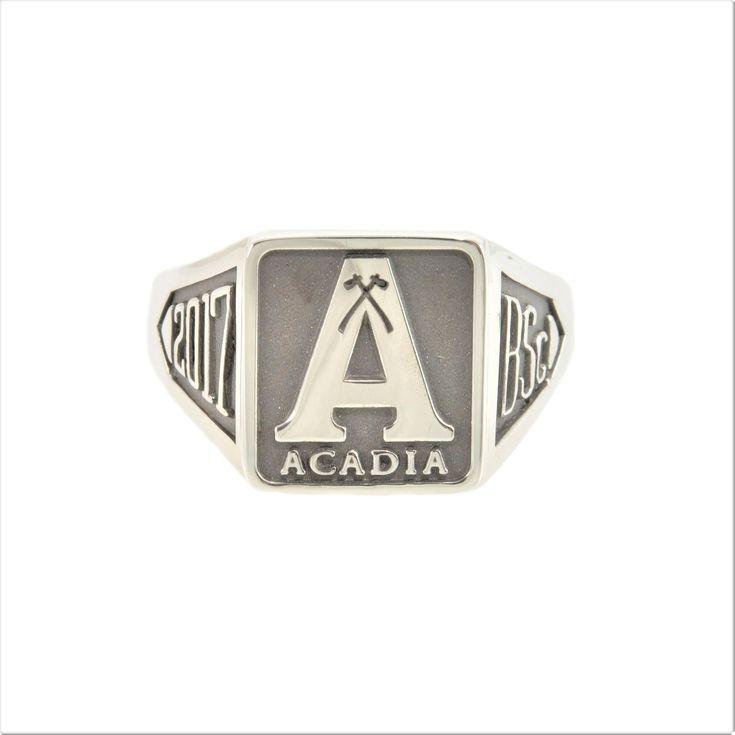 Acadia University Graduation Ring