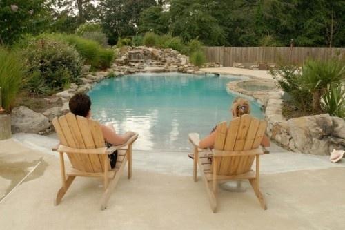 sweet: Saltwater Pools, Ideas, Dreams Houses, Beaches Entry Pools, Beaches Pools, Dreams Pools, Beach Entry Pool, Pools Design, Modern Pools