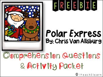 The Polar Express by Chris Van Allsburg is a magical story about an adventure a boy takes because he believes in Santa Claus and the magic of Christmas!Packet Includes:-2 page of Comprehension Questions and Cause and Effect practice-Identifying character traits using text evidence-Identifying imagery from the book  Looking for The Polar Express writing activities?