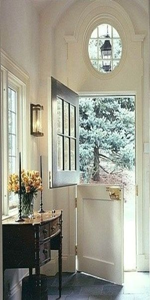 Southern Home | Dutch Door Entry