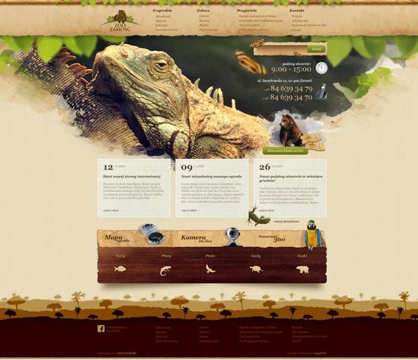Zoo Zamość by Karol Sidorowski, via Behance