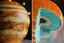Baking For Geeks: Learn How To Make a Cake That Looks Like Jupiter | The Kitchn