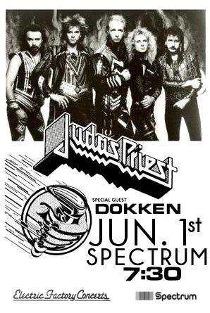 Judas Priest - 1986 Spectrum