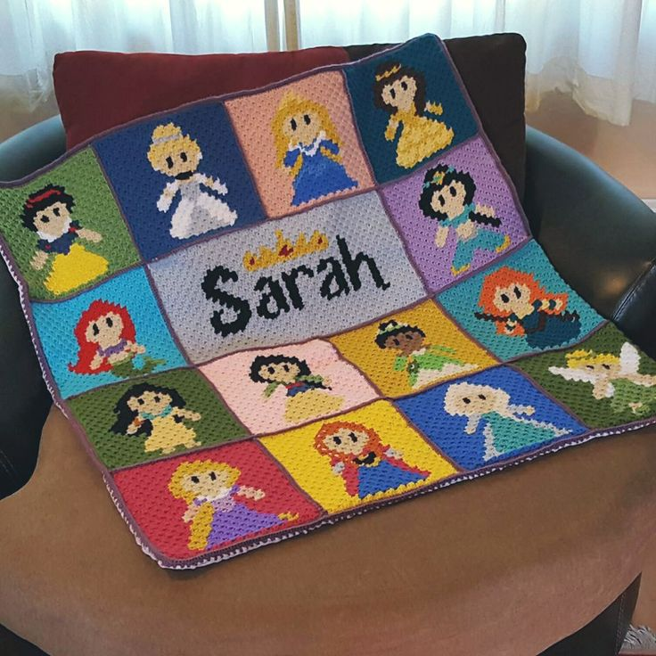 Once upon a time, in a far away land, Two Hearts Crochet hosts a Princess & Villains CAL! There area total of 25 squares (13 princesses, 12 villains), so there arebe plenty of different combi…