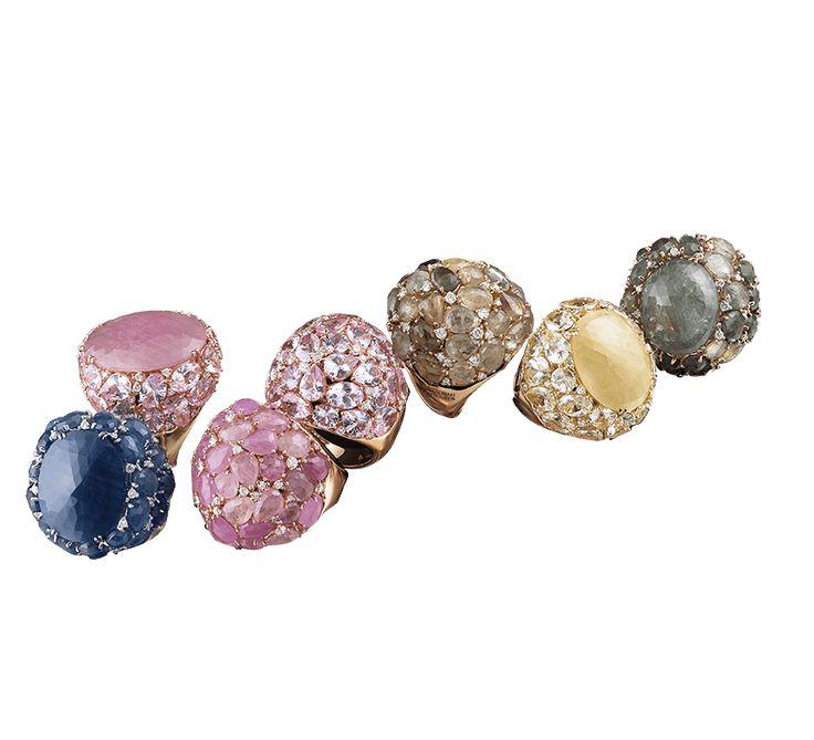 Красочное ювелирное изделие, которое создано специально для Вас. Золотое кольцо из коллекции «Dolce vita» − в переводе с итальянского языка «сладкая жизнь». Если Ваш образ жизни соответствует этому высказыванию, Вам не обойтись без золотого кольца с драгоценными камнями. Предлагаем Вашему вниманию другие украшения этой же ювелирной марки.