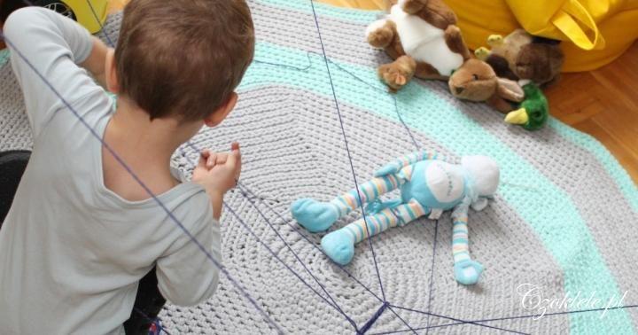 spider web - activity for kids --------- tor przeszkód, sieć pajęcza dla dzieci