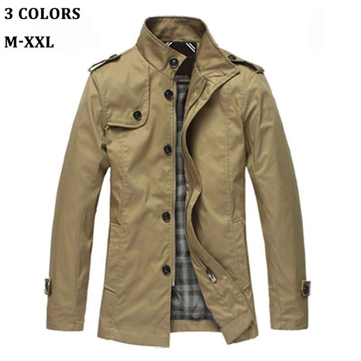 Compare Prices on Mens Short Trench Coats- Online Shopping/Buy Low ...