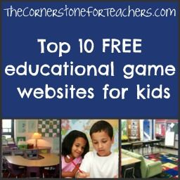 Top 10 free educational game websites for kids