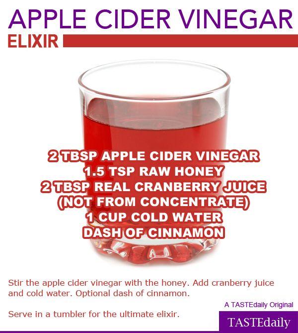 Apple Cider Vinegar Elixir Recipe