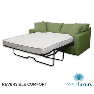 Select Luxury Reversible 4-inch Twin-size Foam Sofa Bed Sleeper Mattress | Overstock.com Shopping - Great Deals on Select Luxury Mattresses