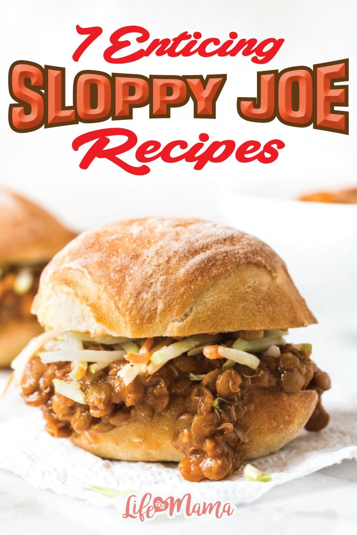 These recipes take sloppy joes to a new level of yummy. These concoctions are loaded with flavorful ingredients that will excite your taste buds and your children's appetites!