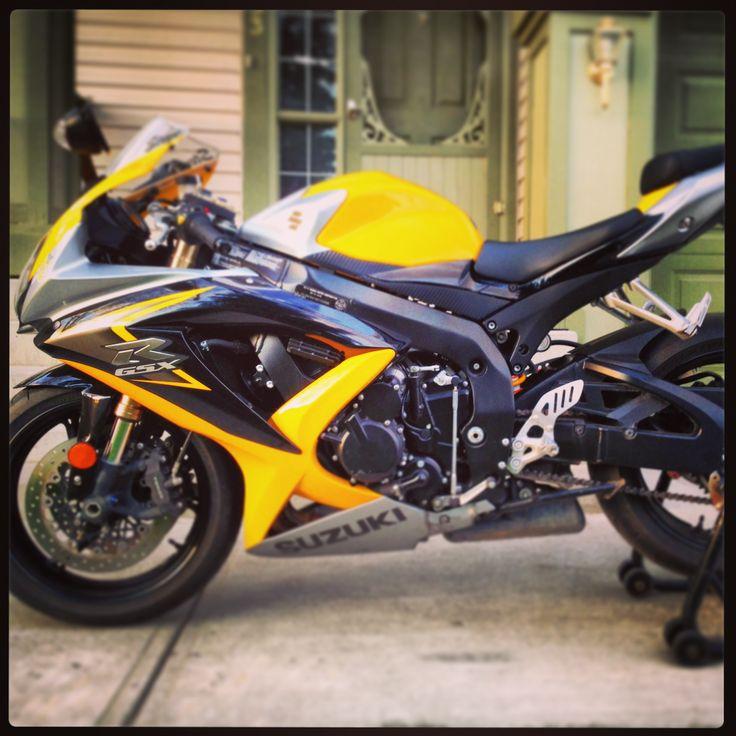 2008 gsxr 600.  Yellow/ silver / black k8 with Leo Vince titanium/ carbon fibre exhaust. Calgary, Alberta CANADA