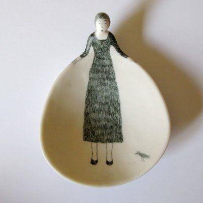 mrs eliot books: Susan Disley/We Heart Books para muñecas de dibujos flor.