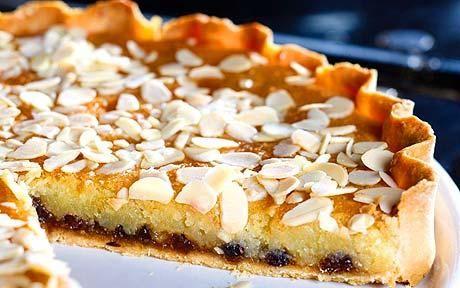 Mincemeat frangipane tart.  Again, must get tart pan!