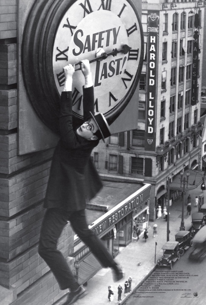 Watch New Poster & Trailer For ReRelease Of Harold Lloyd