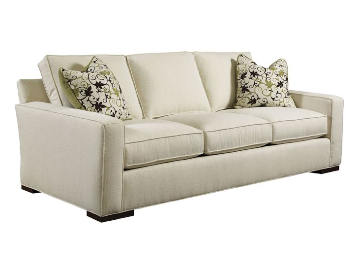 Lovely In Brown Wide Wale Corduroy Lexington Upholstery Bond Sofa   Lexington Home  Brands