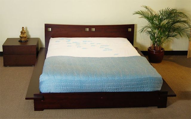 Bed Frame And Headboard Japanese Style Platform Beds 7 Image