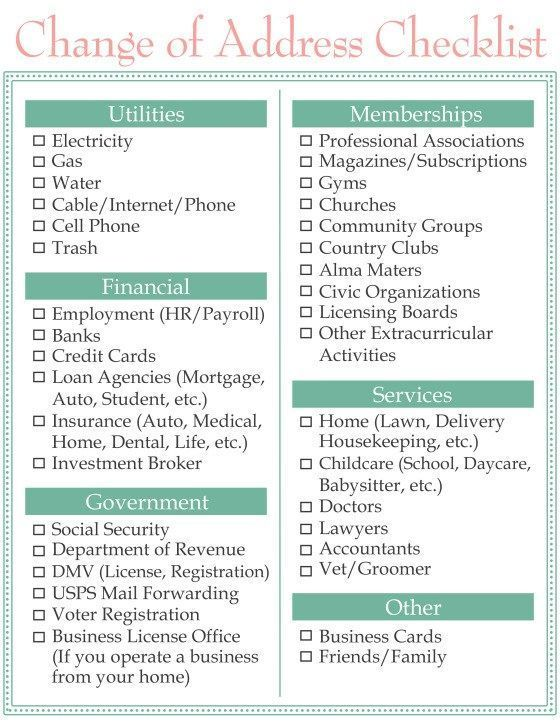 Best 25 new home checklist ideas only on pinterest new for Moving into a new house checklist
