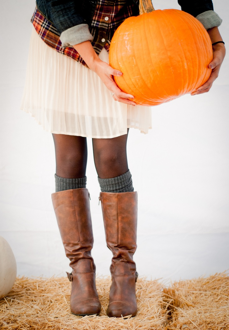 Pumpkin patch (I like this outfit)