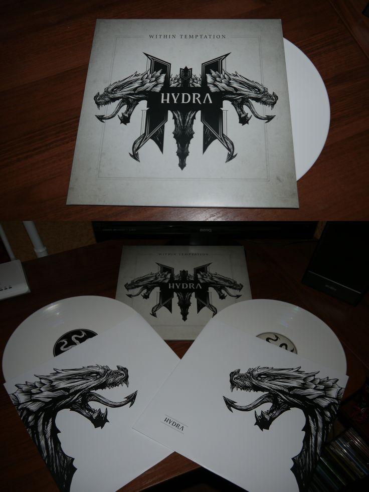 Within Temptation - Hydra 2 LP White Vinyl (BMG, 2014)