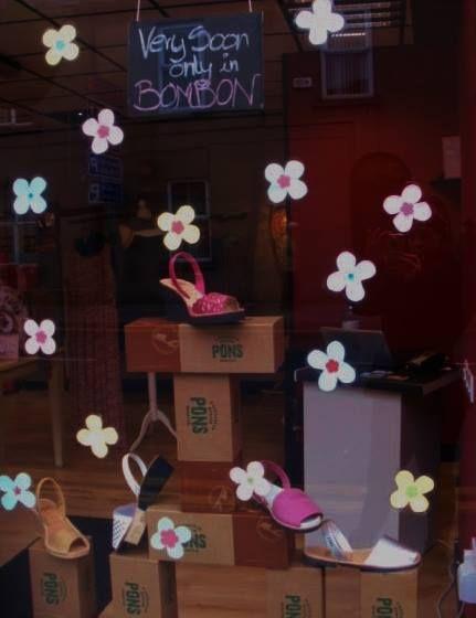 Display in Bombon.