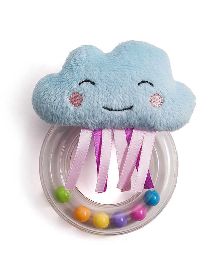 cheerful cloud rattle by taf toys http://www.taftoys.com/tafproduct/cheerful-cloud-rattle-12075/
