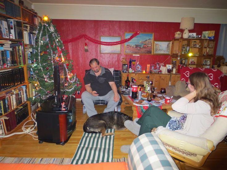 Foto - Google Foto Siste Jul med Akita, Jack og Miranda