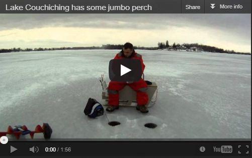 Ice Fishing on Lake Couchiching